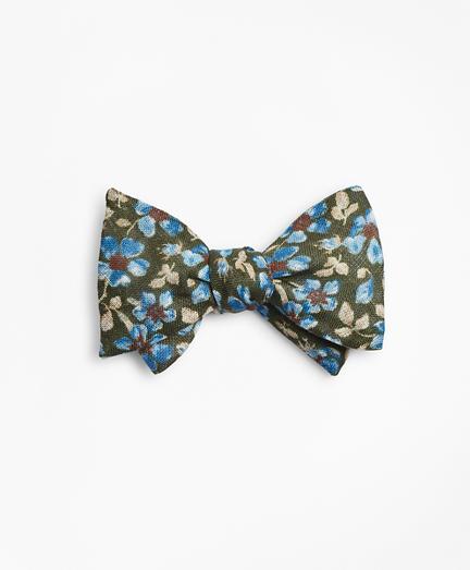 Vintage Flower Bow Tie