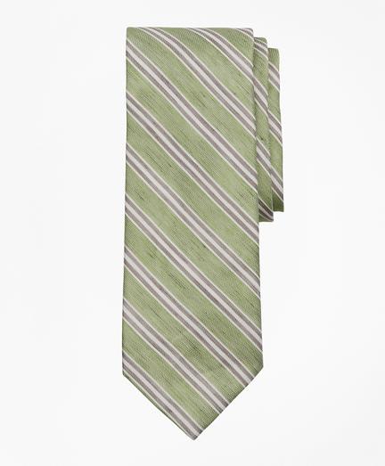 Linen and Silk Stripe Tie