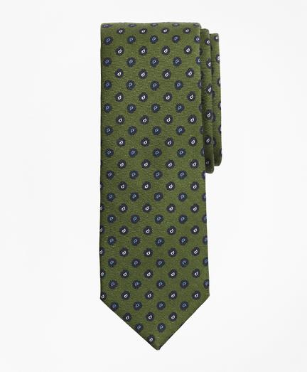 Pine  Print Wool Tie