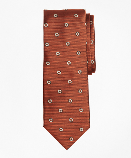 Limited Edition Archival Collection Geometric Neat Silk Jacquard Tie