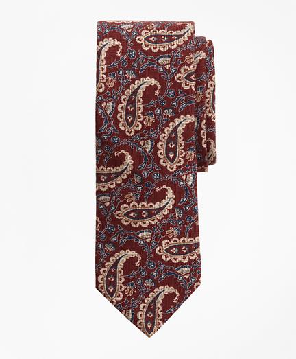 Paisley Chevron Print Tie