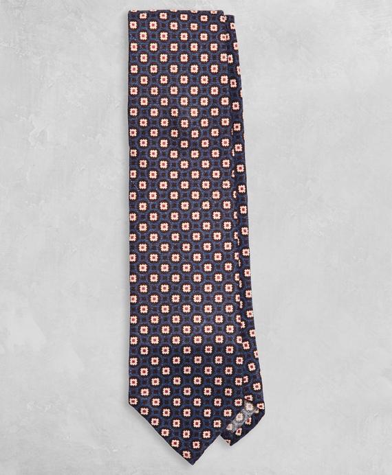 Golden Fleece® Geometric Wool Tie Navy