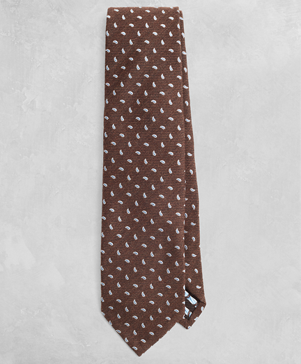 Golden Fleece® Pine Silk-Wool Twill Tie