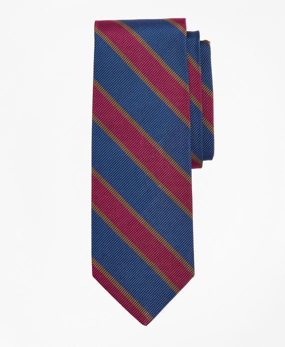 Mogador Stripe Tie Blue