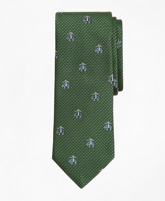 Herringbone Fleece Tie