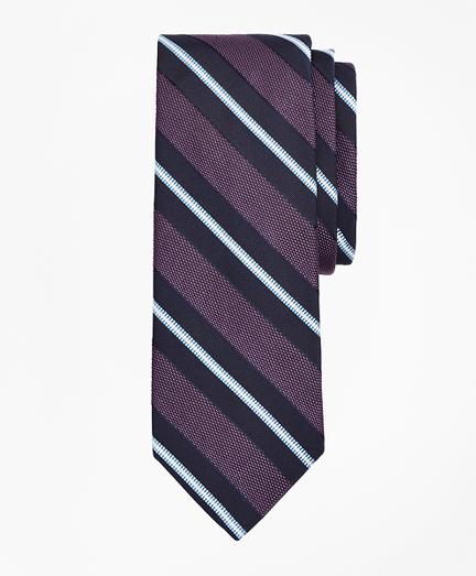 Hatching Stripe Tie