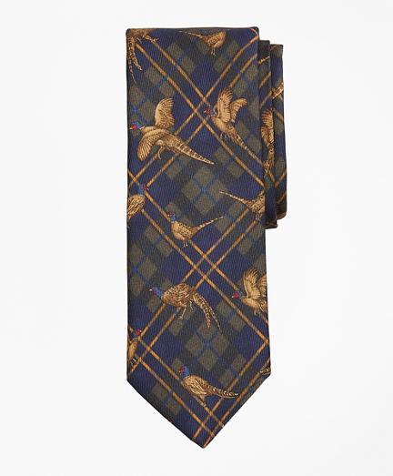 Plaid Pheasant Tie