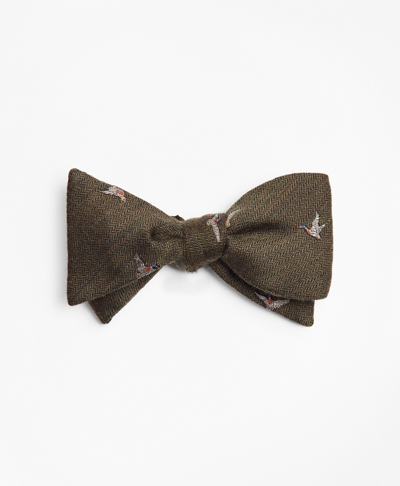 Flying Geese Bow Tie Green