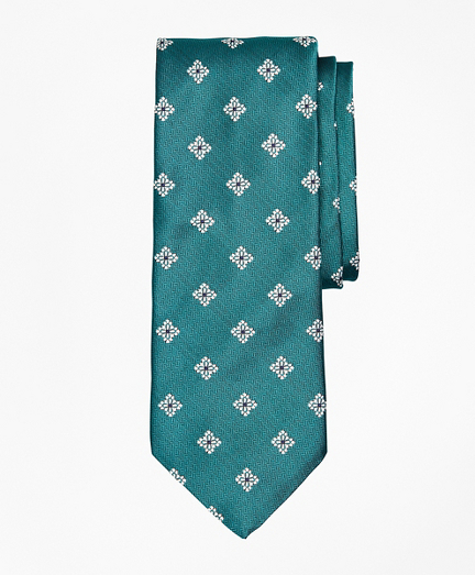 Open Neat Floral Tie