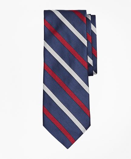 Textured Stripe Tie