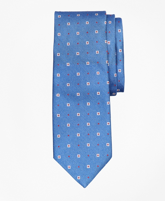 Panama Neat Tie Blue