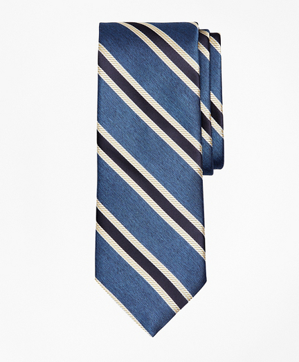 Melange Stripe Tie