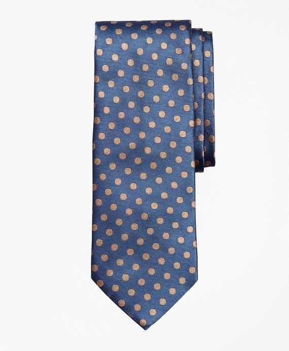 Melange Dot Tie Blue