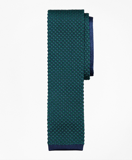 Bird's-Eye Knit Tie