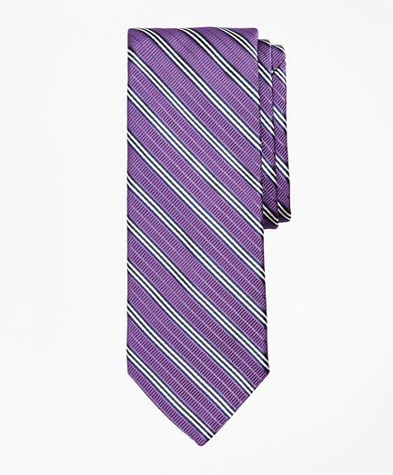 Ribbed BB#1 Rep Stripe Tie