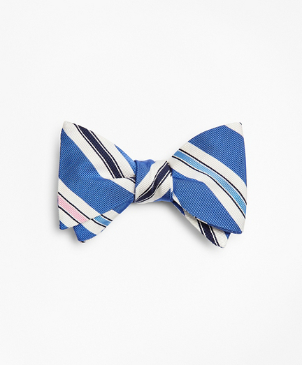 Mogador Stripe Bow Tie