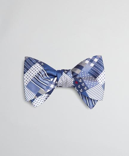 Fun Patchwork Bow Tie