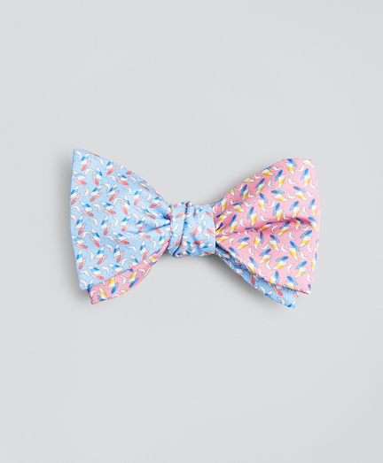 Sail with Dolphins Bow Tie