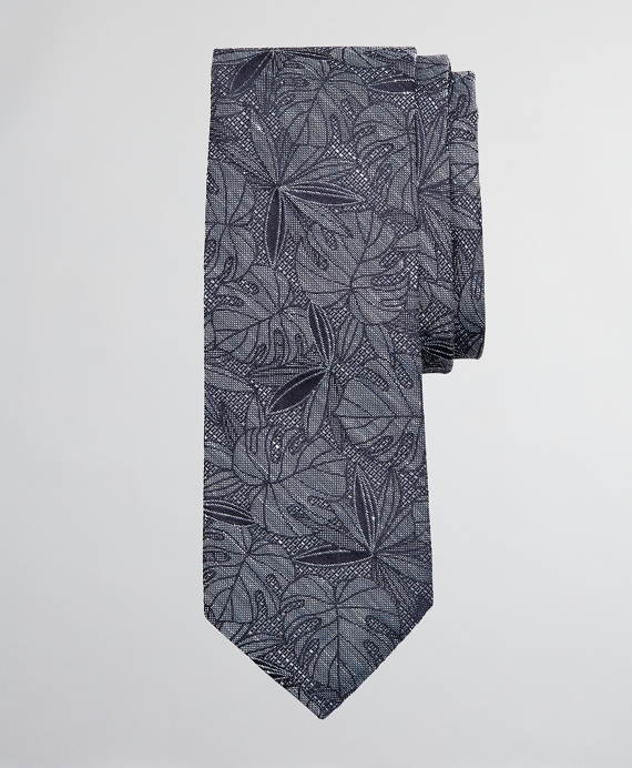 Indigo Palm Tie Navy