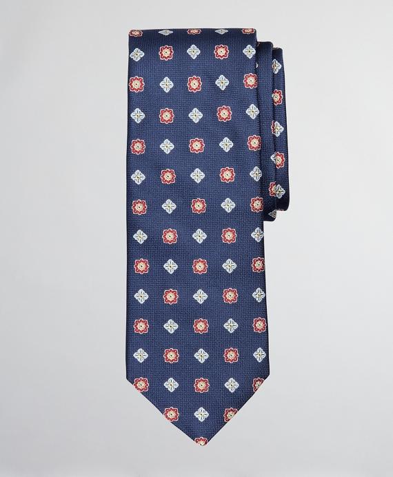 Double Neat Tie Navy