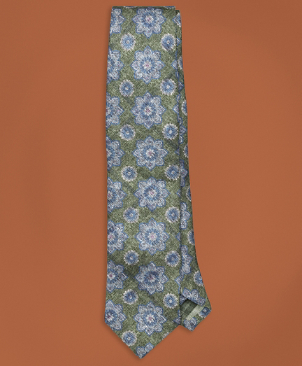 Golden Fleece® Double Pattern Silk Tie
