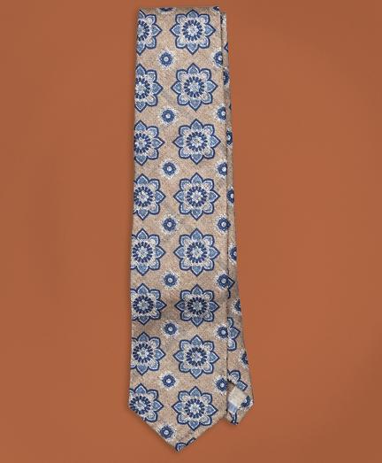Golden Fleece® Double Pattern Silk Tie