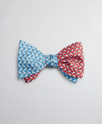 Two-Color Seagull Bow Tie