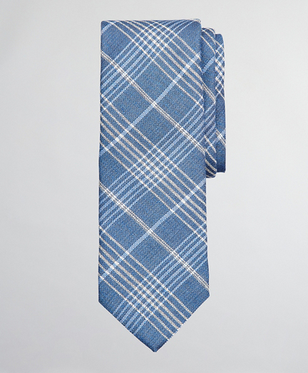 Simple Plaid Tie