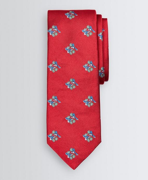 Cardinal Tie Red