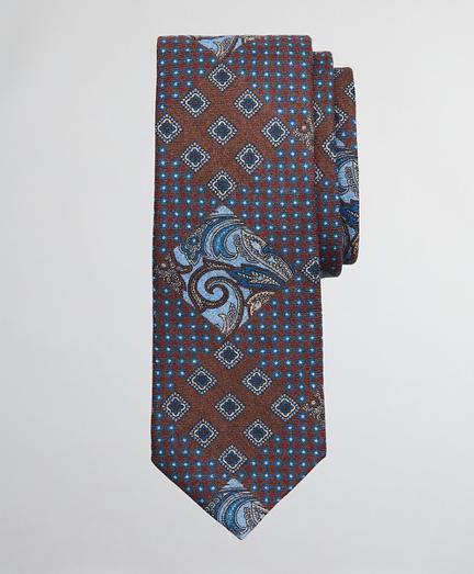 Patchwork Print Tie