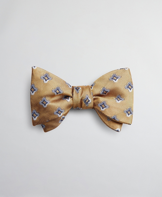 Neat Shade Bow Tie Yellow