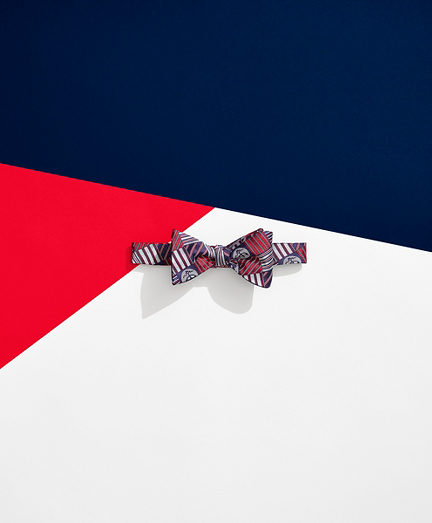 Brooks Brothers x FILA Doubles Reversible Bow Tie