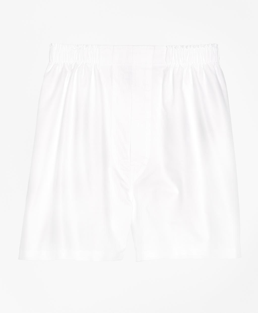 1940s Men's Underwear: Briefs, Boxers, Unions, & Socks Brooks Brothers Mens Slim Fit Oxford Boxers $25.00 AT vintagedancer.com