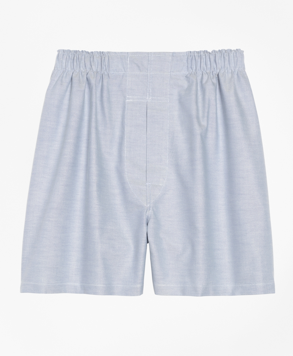 1940s Men's Underwear: Briefs, Boxers, Unions, & Socks Brooks Brothers Mens Slim Fit Oxford Boxers $17.50 AT vintagedancer.com