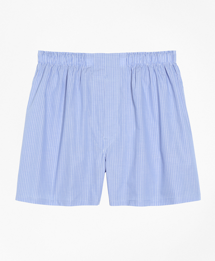 Traditional Fit Pencil Stripe Boxers