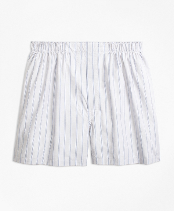 Traditional Fit BB#1 Stripe Boxers Grey
