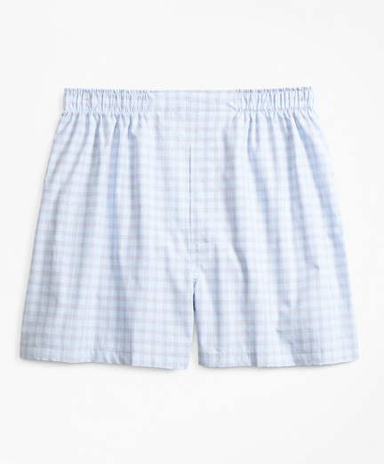 Traditional Fit Check Boxers