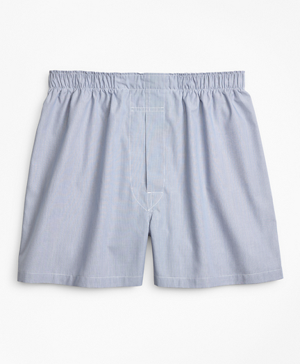 Traditional Fit Ground Hairline Stripe Boxers