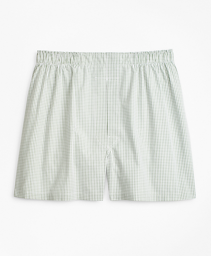 Traditional Fit Windowpane Boxers