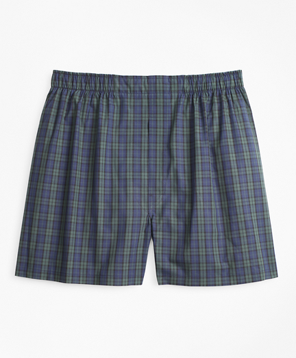 Traditional Fit Black Watch Tartan Boxers