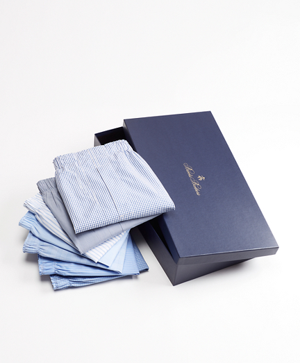 Seven-Piece Traditional Fit Boxers Gift Set