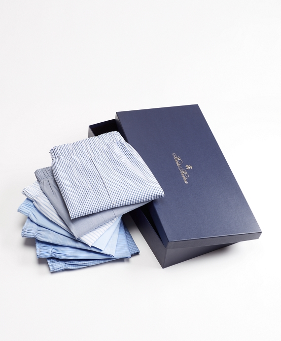 Seven-Piece Traditional Fit Boxers Gift Set Classics