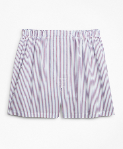 Traditional Fit Framed Stripe Boxers