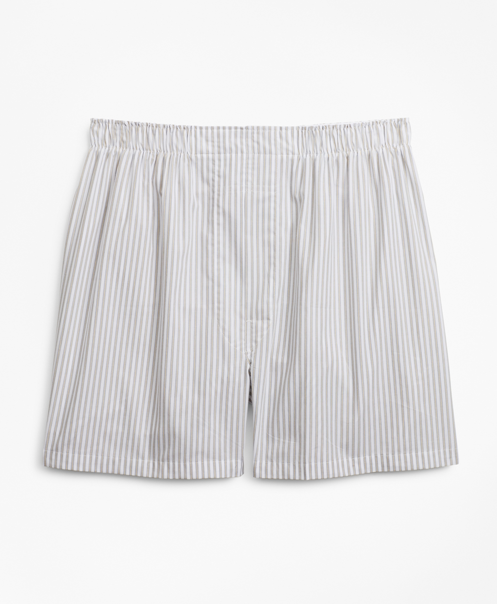 1940s Men's Underwear: Briefs, Boxers, Unions, & Socks Brooks Brothers Mens Relaxed Fit Framed Stripe Boxers $17.50 AT vintagedancer.com