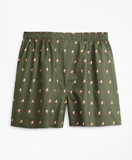 Traditional Fit Duck Print Boxers