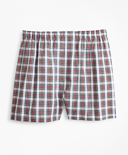 Traditional Fit Tartan Boxers