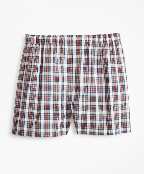 Traditional Fit Tartan Boxers Multi