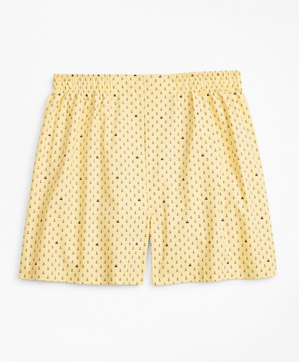 Traditional Fit Anchor and Fleece Boxers