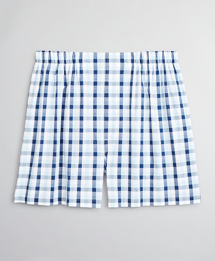 Traditional Fit Summer Plaid Boxers