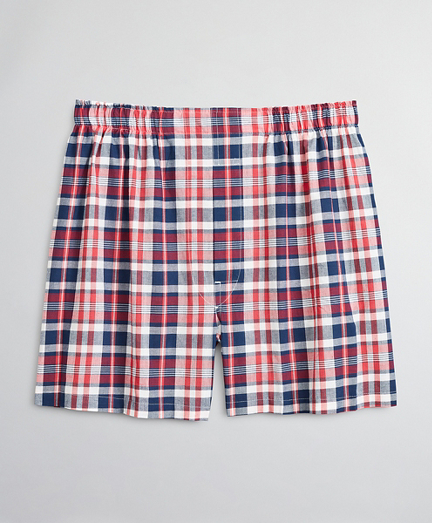 Traditional Fit Madras Boxers